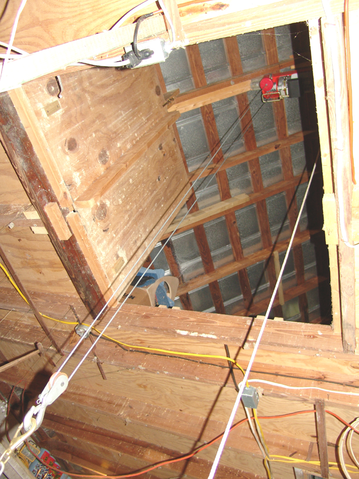 & Hoisting tools to the attic? - The Garage Journal Board